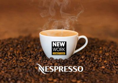 We love Nespresso @ New Work Junction