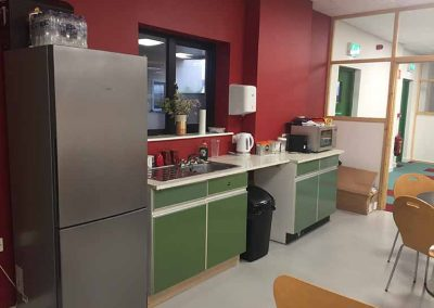 Kitchen/Social Area.