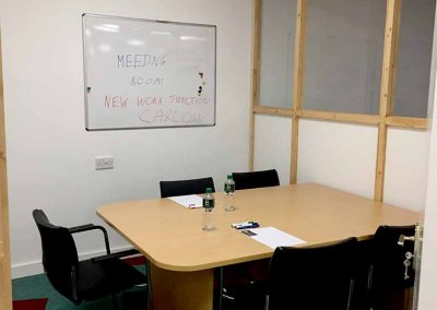 We've 2 meeting rooms for you to choose from.